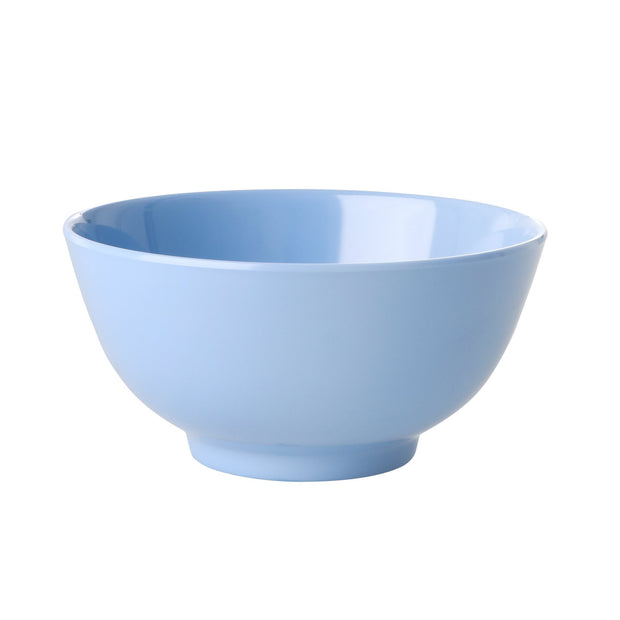 Rice Melamine Bowl - Blue