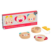 Petit Collage Wooden Percussion Instruments Set Of 3