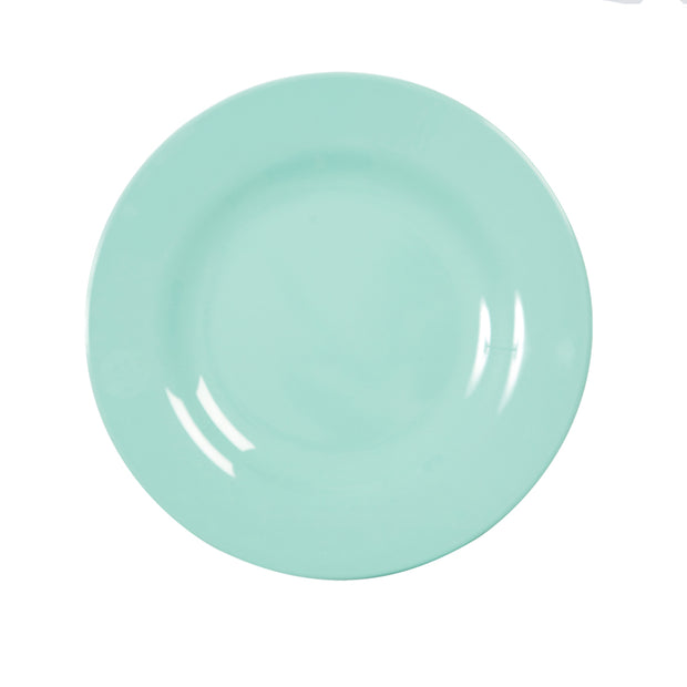 Rice Melamine Plate - Mint