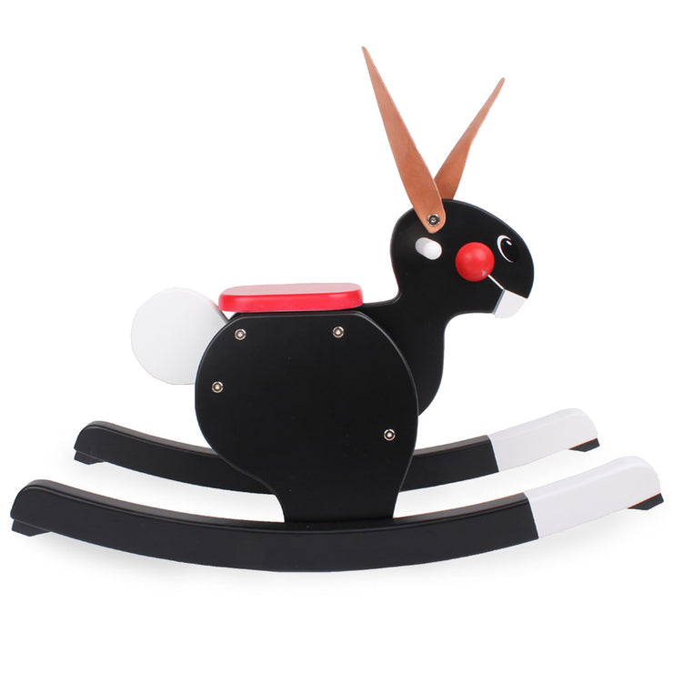 Playsam Rocking Rabbit - Black