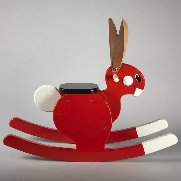 Playsam Rocking Rabbit - Red