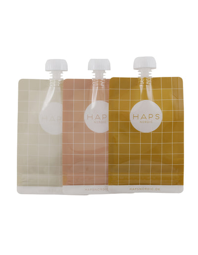 Eco Friendly Smoothie Pouch Set of 3 - Earth