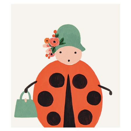 Rifle Paper Co Ladybird Print