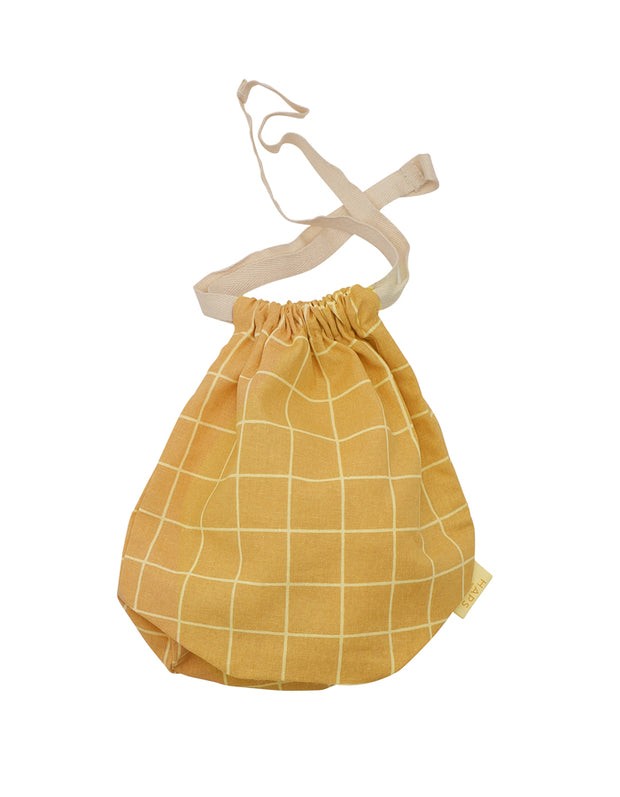 Organic Cotton Fruit / Storage Bag - Mustard