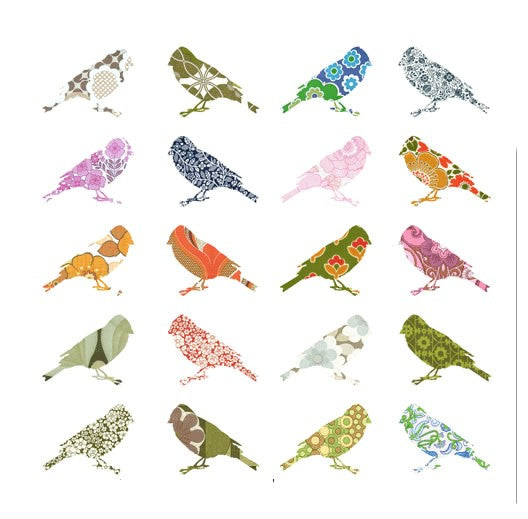 Wallpaper Birds - Set of 2