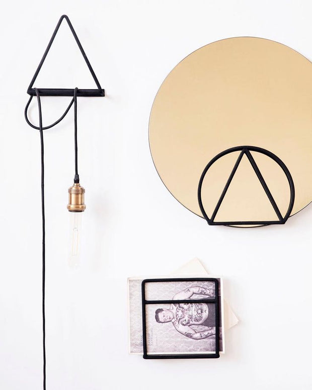 Geometric Book / Magazine Holder - Circle