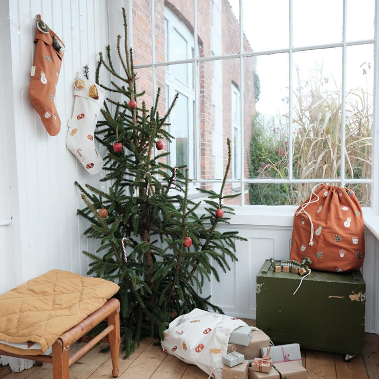 Fabelab Organic Stocking – Winter Forest