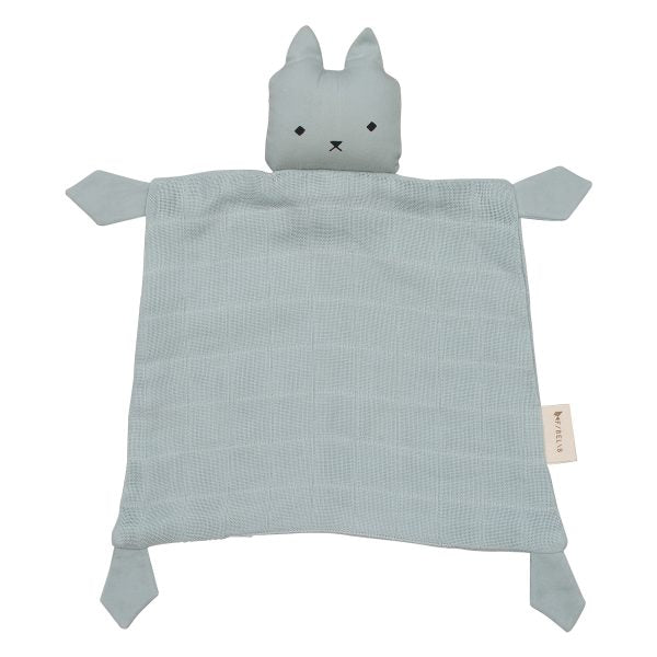 Fabelab Cat Cuddle Comforter Foggy Blue