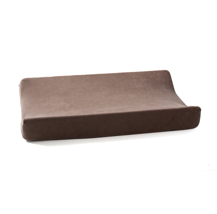 Velour Changing Mat Cover - Brown