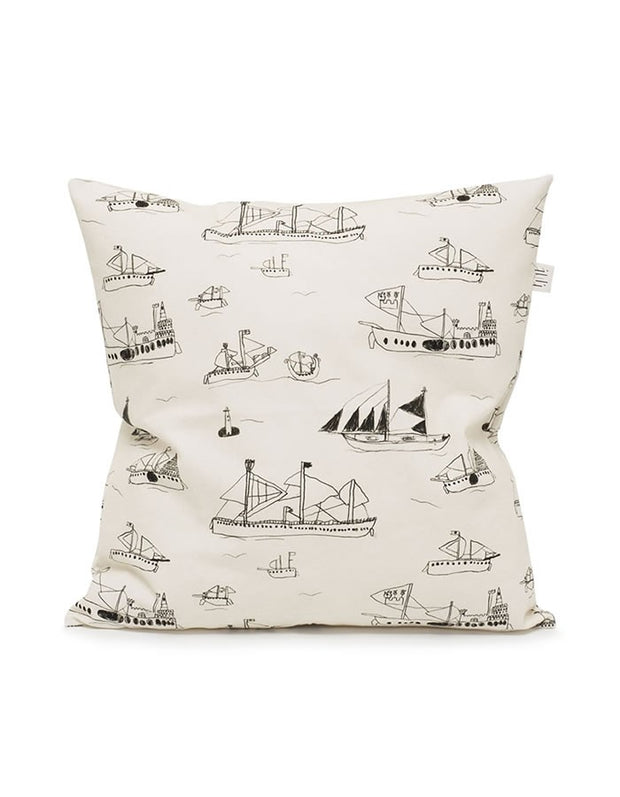 Ships & Boats Cushion Cover