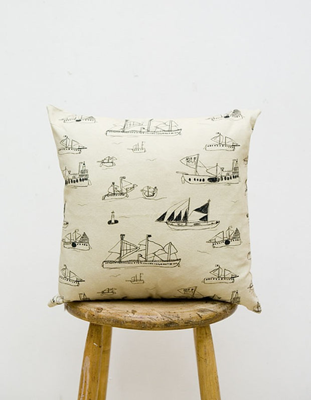 Ships & Boats Ohoy Cushion Cover