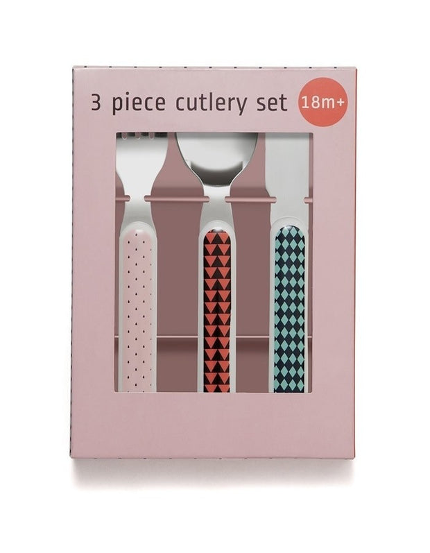 Cutlery Set - Pink