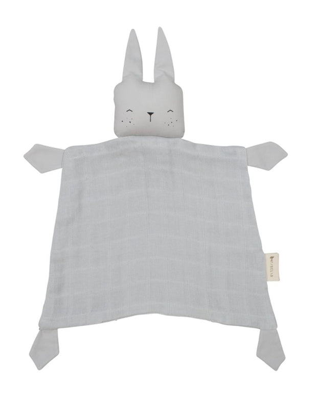 Organic Cotton Grey  Bunny Comforter