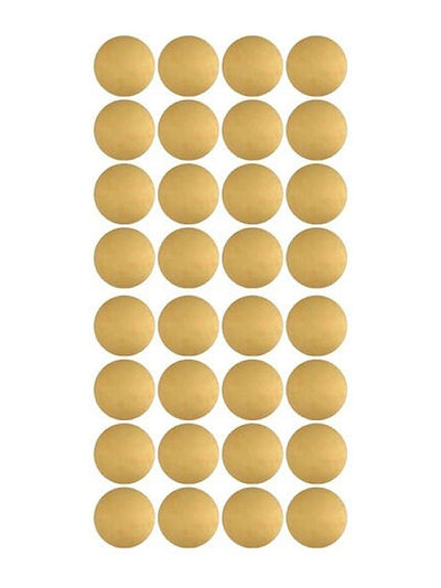 Confetti Wall Stickers - Gold