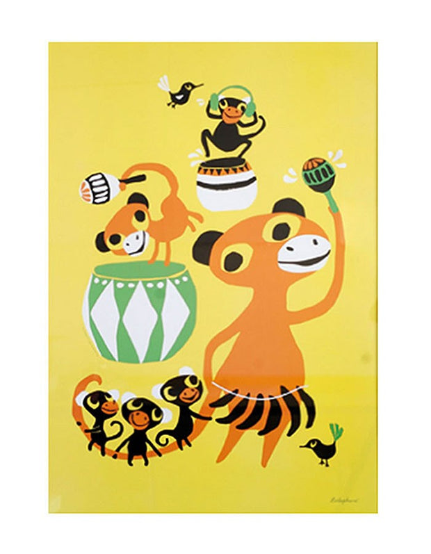 Bongo Party Jungle Poster