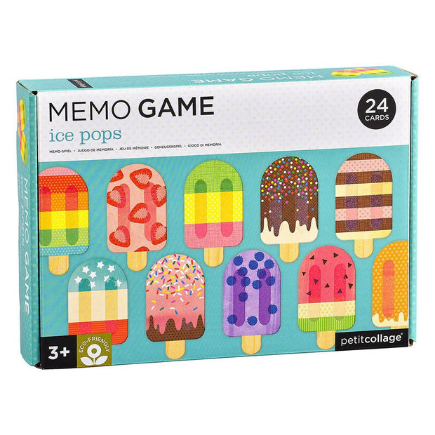 Ice Pops Eco Friendly Memory Game