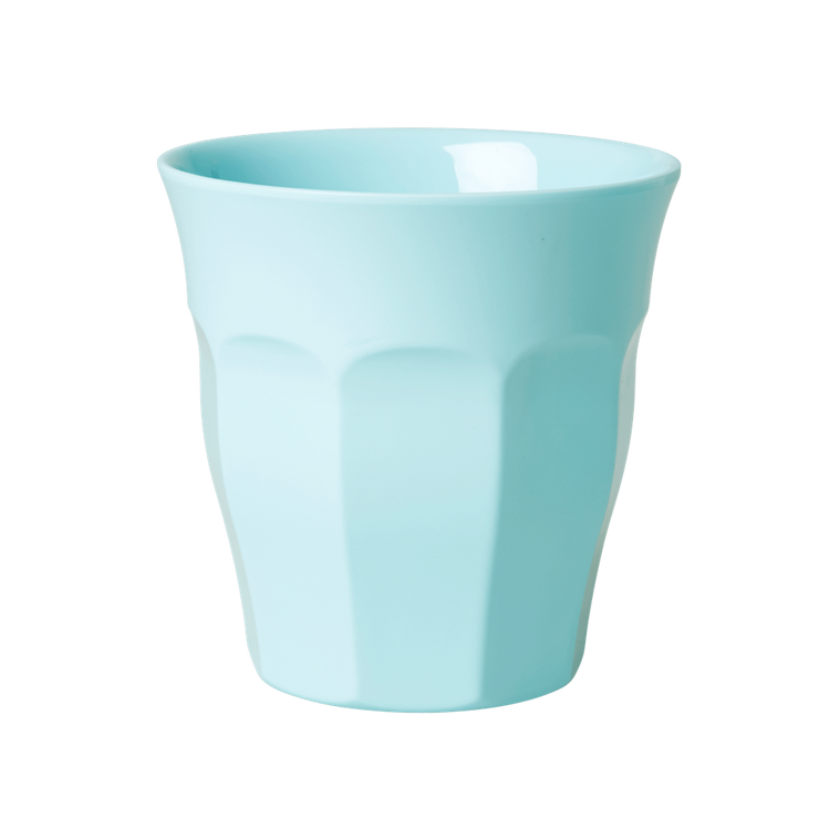 Rice Melamine Cup / Mug - Soft Mint