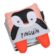 Wee Gallery Pitter Patter Penguin Soft Book