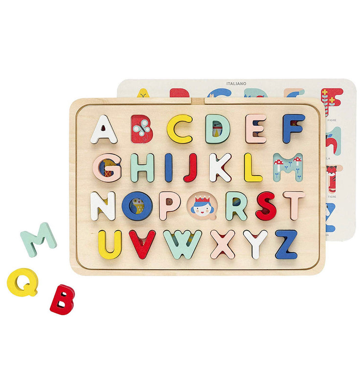 Multi Language Wooden array Puzzle