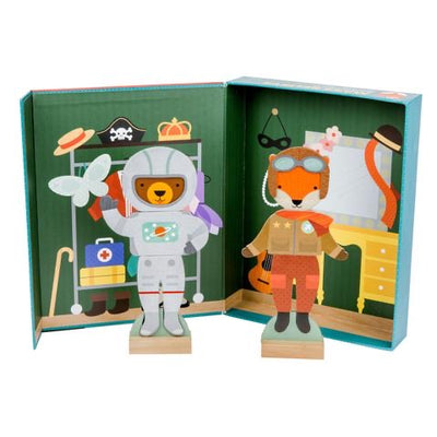 Petit Collage Make Believe Magnetic Dressing Up Set