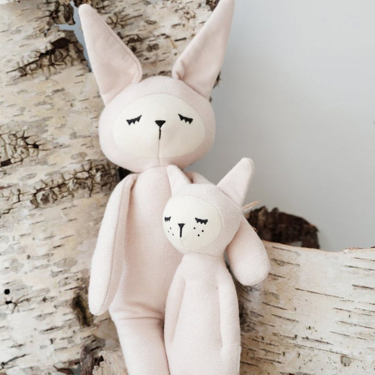 Fabelab Organic Rattle Bunny Friend