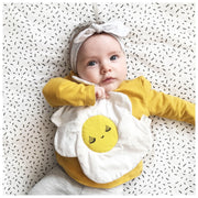 Wee Gallery - Egg Crinkle Toy - Organic Cotton