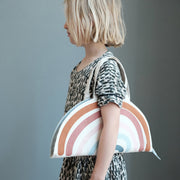 Fabelab Organic Play Purse | May - Rainbow