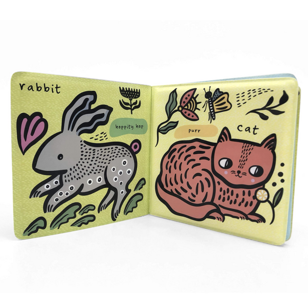 Wee Gallery Bath Book - Pets