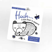 Wee Gallery Sound Book - Hush Baby Bear