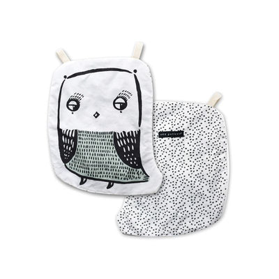 Wee Gallery - Owl Crinkle Toy - Organic Cotton