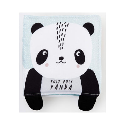 Wee Gallery: Roly Poly Panda – Baby's First Soft Book
