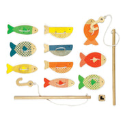 Petit Collage Wild Fishing Around Wooden Fishing Game
