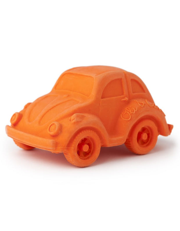 Eco Friendly Baby Toy- Car, Orange