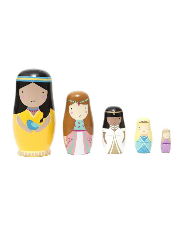 Russian Nesting Dolls - Princess
