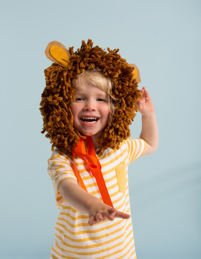 Lion Mane Head Dress