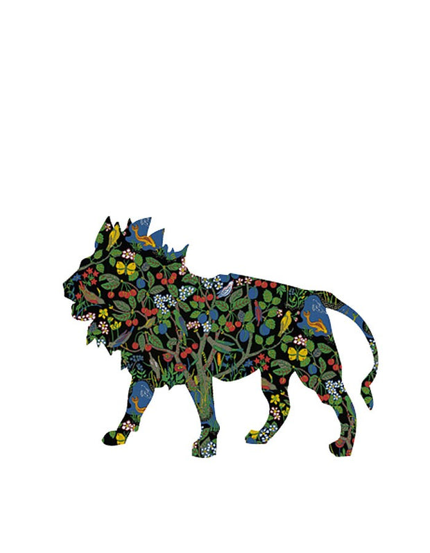 Wallpaper Lion Decal - Josef Frank