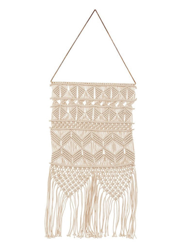 Macrame & Brass Wall Hanging