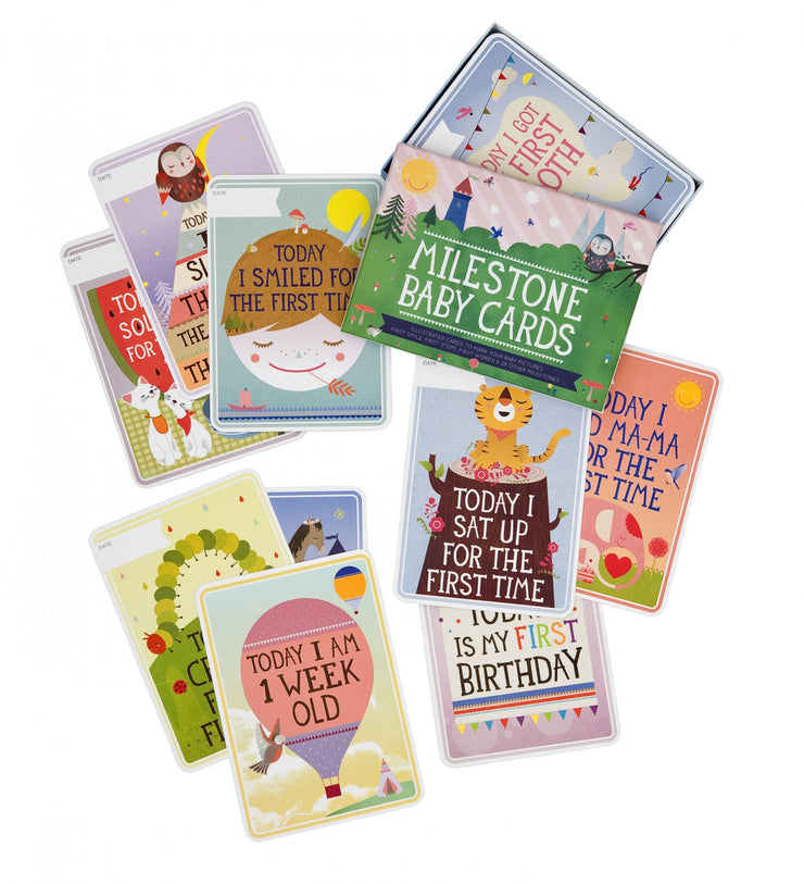 Milestone Baby Cards Set of 30 - Original