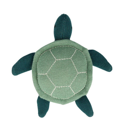 Organic Sea Turtle Baby Rattle