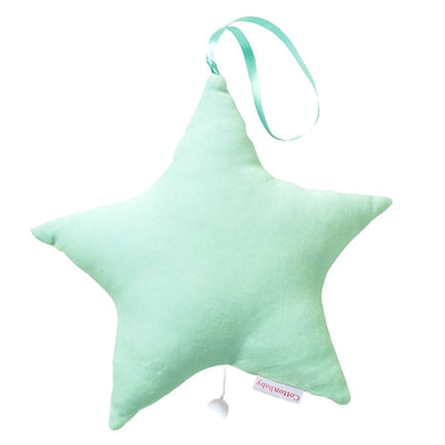 Music Star, Cotton Velour - Green