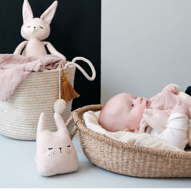 Organic Cotton Bunny Music Mobile