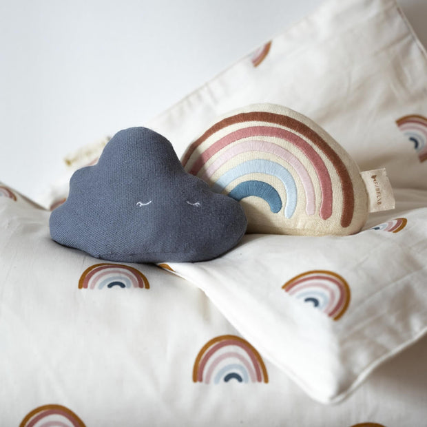 Fabelab Organic Cotton Musical Rainbow Mobile