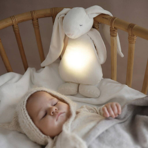 Moonie - Pink Noise Activated Soother Night Light - pink