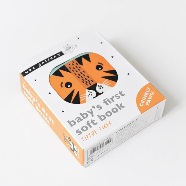 Wee Gallery Tip Toe Tiger Soft Book