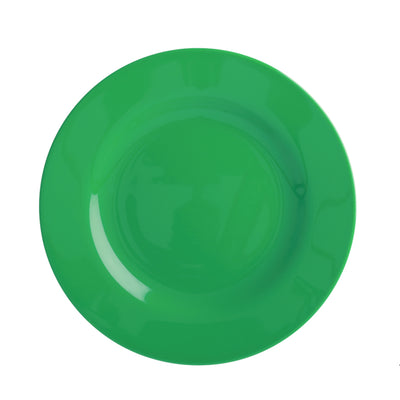 Rice Melamine Plate - Green