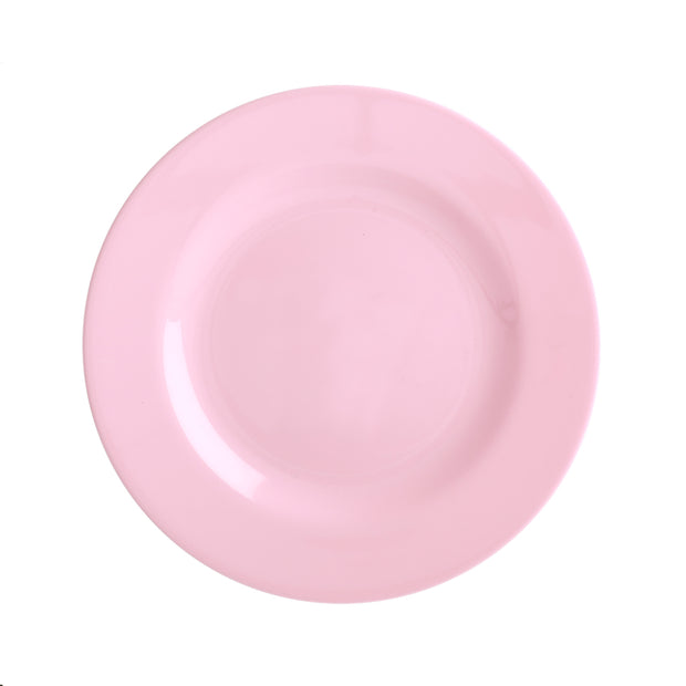 Rice Melamine Plate - Pink