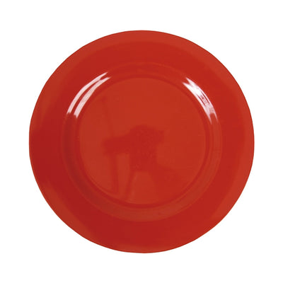 Rice Melamine Dinner Plate - Red