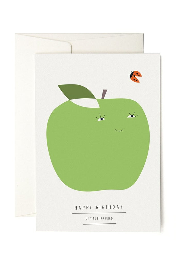 Happy Birthday Little Friend Card
