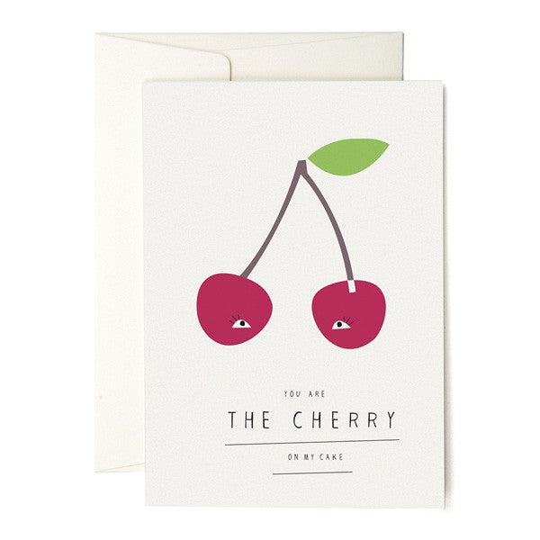 You Are The Cherry On My Cake Card