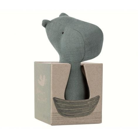 Maileg Hippo Soft Rattle